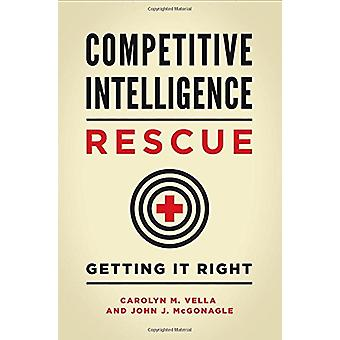 Competitive Intelligence Rescue - Getting It Right by Carolyn M. Vella