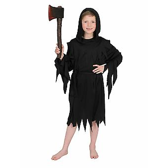 Death Halloween pojke kostym Executioner Sensenmann pojkar kostym