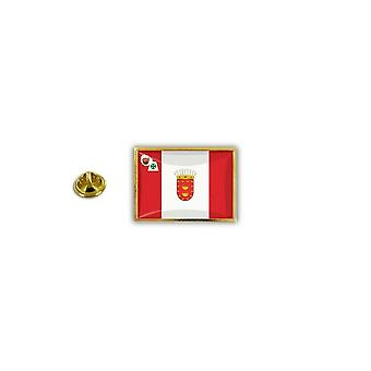 Pine PineS Pin Badge Pin-apos;s Metal Broche Papillon Butterfly Flag La Gomrea