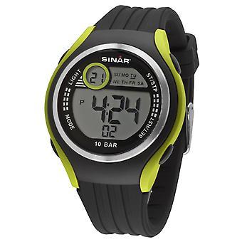 SINAR Youth Watch Wristwatch Digital Quartz Unisex Silicone Strap XF-66-3