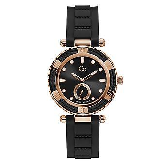 GC Y55002L2MF Women's Ladydiver Silicone Wristwatch