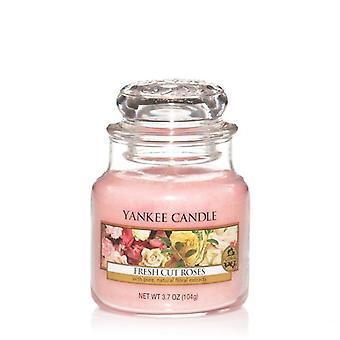 Yankee Candle Classic Pequeno Jar Fresh Cut Roses 104g