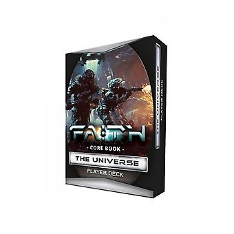 Core Book The Universe Player Deck: FAITH: The Sci-Fi RPG Second Edition