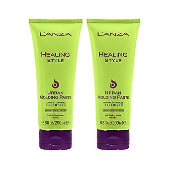 2-pack LANZA Healing Style Urban Molding Paste 200ml