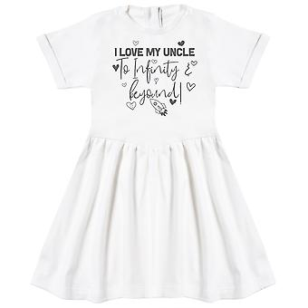 I Love My Uncle To Infinity & Beyond - Baby Dress