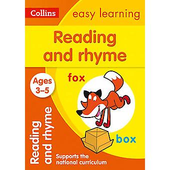 Reading and Rhyme Ages 35 New Edition