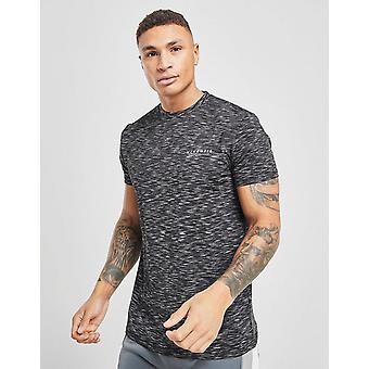 Nya McKenzie män ' s Brannon Poly Space kortärmad T-shirt svart