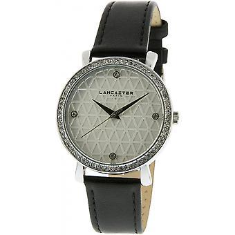 Lancaster horloge horloges LOUVRE LPW00315 - horloge LOUVRE leder bruin vrouw