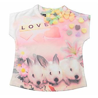 Dirkje Meisjes T-Shirt Bunny