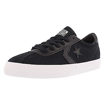 Converse Womens Breakpoint Low Top Sneaker (6, Black/White)