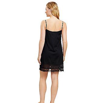 Féraud 3201036-10995 Women's Couture Black Loungewear Nightdress