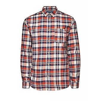 Jack & Jones Vintage Shirt Castleford Whisper White & Red