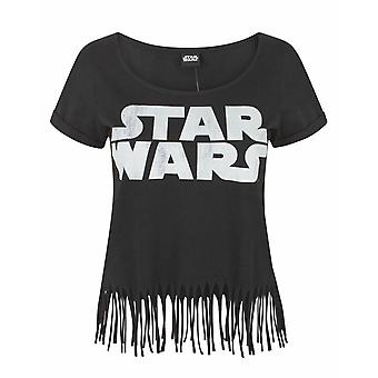 Star Wars Logo Women's Fringe Top