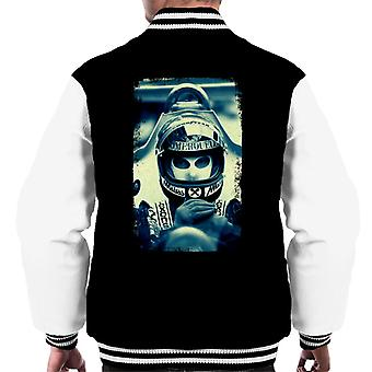 Motorsport Images Niki Lauda Racing Portrait Men's Varsity Jacket