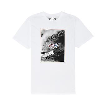 Billabong De Inside Korte Mouw T-shirt in wit