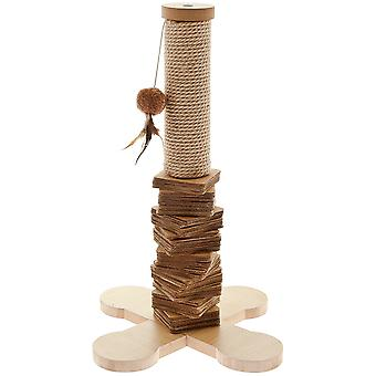 Ferribiella kat træ naturlige (katte, legetøj, skrabe stillinger)