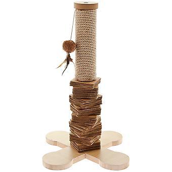Ferribiella Cat Tree Natural  (Katten , Speelgoed , Krabpalen)