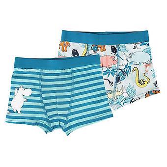 Jungle boxer shorts blauw