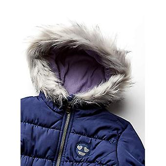 Jessica Simpson Girls' Toddler Expedition Parka, Navy, 3T
