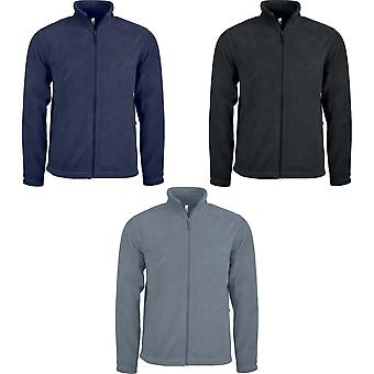 Cremallera Anti píldora Microfleece Jacket Kariban Mens