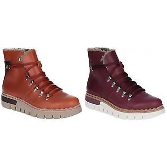 Caterpillar Womens/Ladies Attention Fur Waterproof Leather Boot