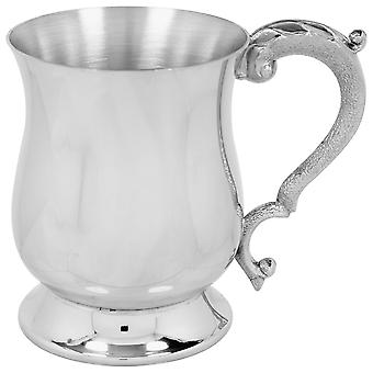 Georgian Pewter Tankard-1 halbă