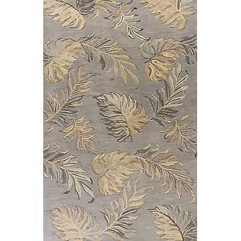 30& X 50& Wełniany szary dywan