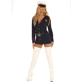 Women Gentlemens Officer Costume