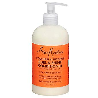 Sheamoisture curl & shine conditioner, 13 oz