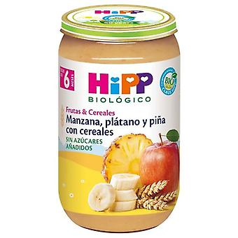 Hipp Apple Pomegranate Banana and Pineapple with Cereals 250 gr