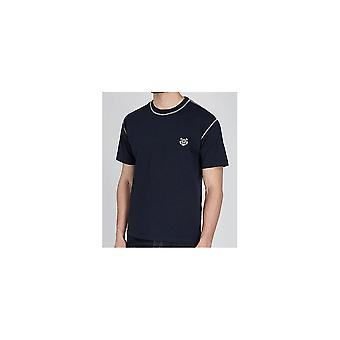 Kenzo Basic Tiger Logo Marine T-shirt