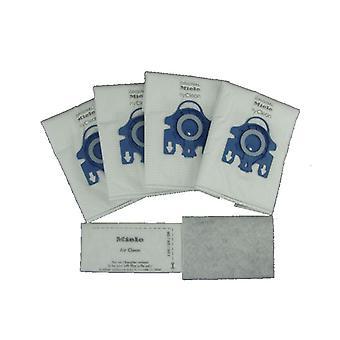 GN de Miele Hyclean Pack de 4 bolsas de polvo de aspiradora de microfibra
