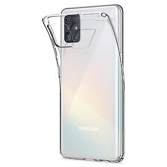 Hull For Samsung Galaxy A51 Liquid Crystal Transparent
