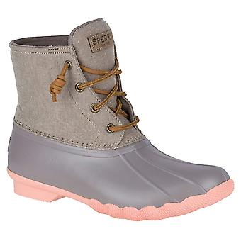 Sperry Womens Saltwater Closed Toe Ankle Rainboots