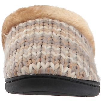 Dearfoams Women's Chunky Space-Dye Knit Clog