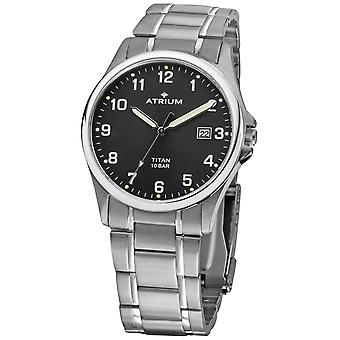 ATRIUM Men's Watch Ceas de mana Analog Quartz Titan A23-31