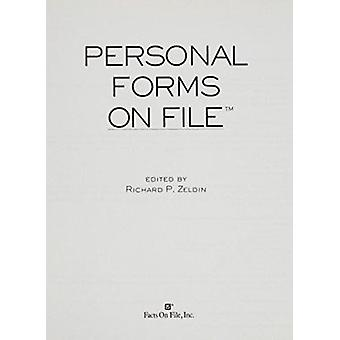 Personal Forms on File  2005 Update - More Than 110 Indispensable Form