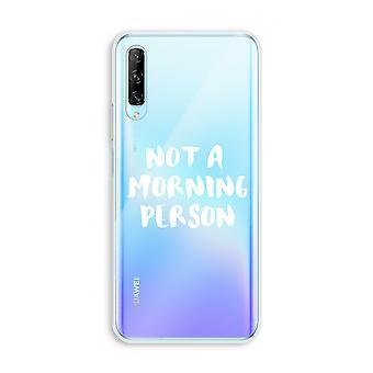 Huawei P Smart Pro gjennomsiktig sak (myk) - Morgen person