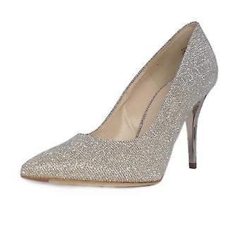 Peter Kaiser Atena Stiletto Court Shoe In Sand Shimmer