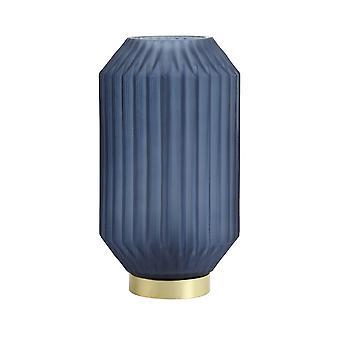Light & Living Table Lamp LED 15x27cm Ivot Glass Matt Blue