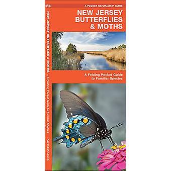 New Jersey Butterflies & Moths - A Folding Pocket Guide to Familiar Sp