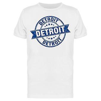 Detroit Vintage Band Tee Men's -Bild von Shutterstock