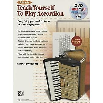 Alfreds Teach Yourself to Play Accordion by Miriam Davidson