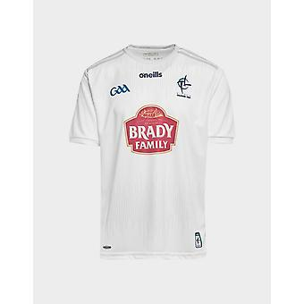 New O'Neills Men's Kildare GAA 2019 Home Shirt White
