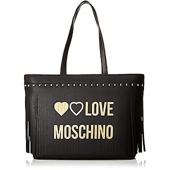 Love Moschino Pu Bag Tote Mujeres (Negro) 30x12x43 cm (An x Al x L)(2)