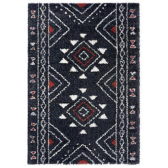 Supersofter Shaggy Tapis Hurley Noir