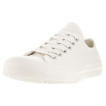 Converse Mens All Star Ox Parchment Low Top Lace Up Fashion Sneakers