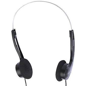 Vivanco SR 3030 Hi-Fi On-ear headphones On-ear Black