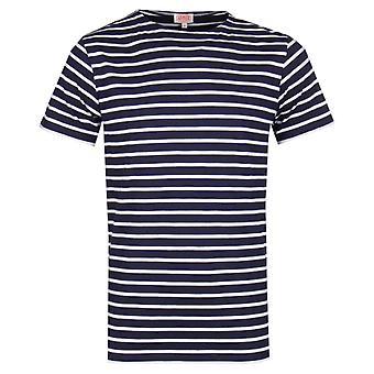Armor Lux marinière marinblå T-Shirt