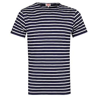 Armor Lux Mariniere Navy T-Shirt
